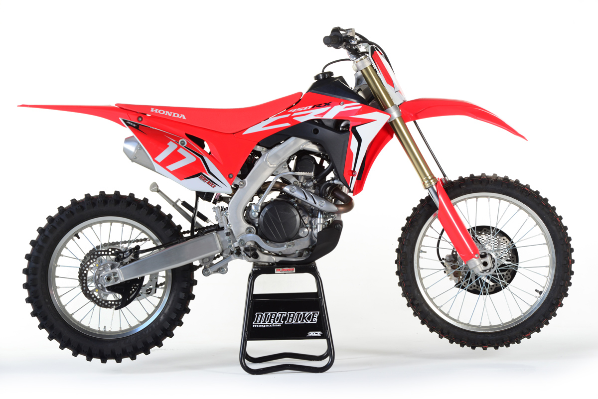 friday wrap  honda crfrx  ride dirt bike magazine