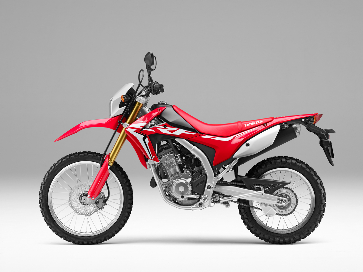 The Price Of The Honda CRF250L Is Still Amazing. No Other Dual Sport Bike  Gives You Such Modern Technology, Including Fuel Injection, For So Little.