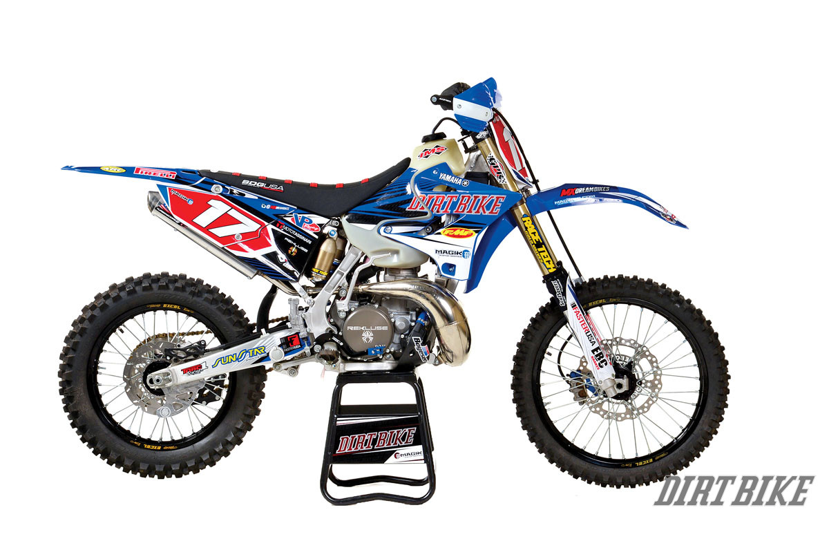 Two stroke tuesday yz250 off road project dirt bike for Yamaha yz250 2 stroke