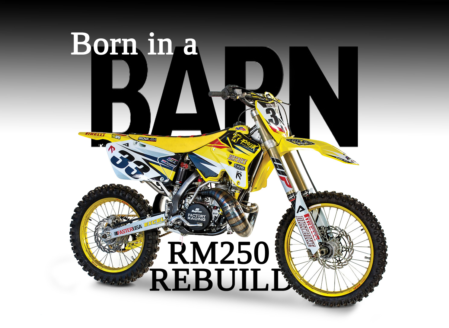 FROM BARN FIND TO RACER: RM250 2-STROKE