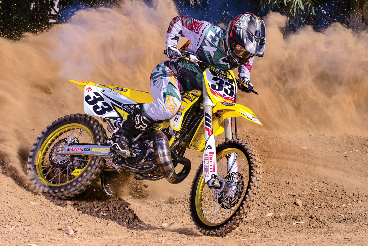 FROM BARN FIND TO RACER: RM250 2-STROKE | Dirt Bike Magazine