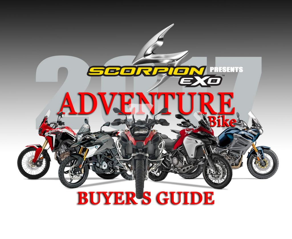 2017 adventure bike buyer s guide dirt bike magazine. Black Bedroom Furniture Sets. Home Design Ideas