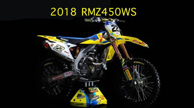 2018 suzuki dirt bikes.  dirt 2018 suzuki rmz450ws with suzuki dirt bikes