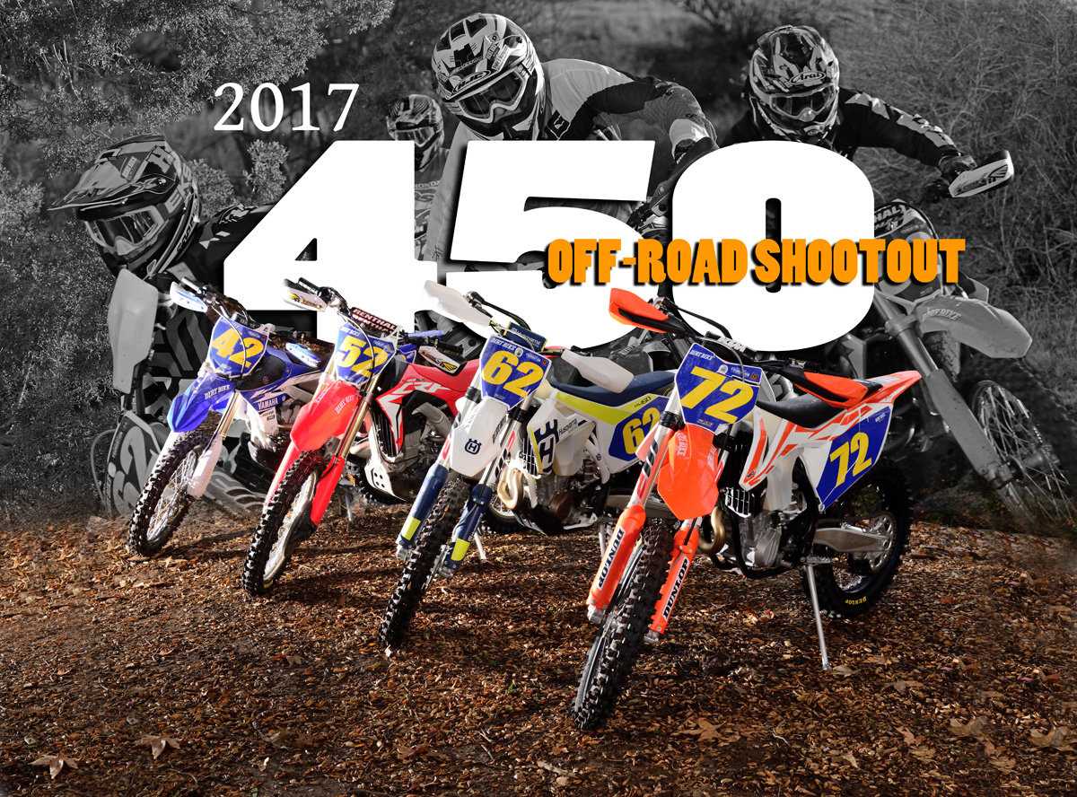Off Road 450 Shootout Dirt Bike Magazine