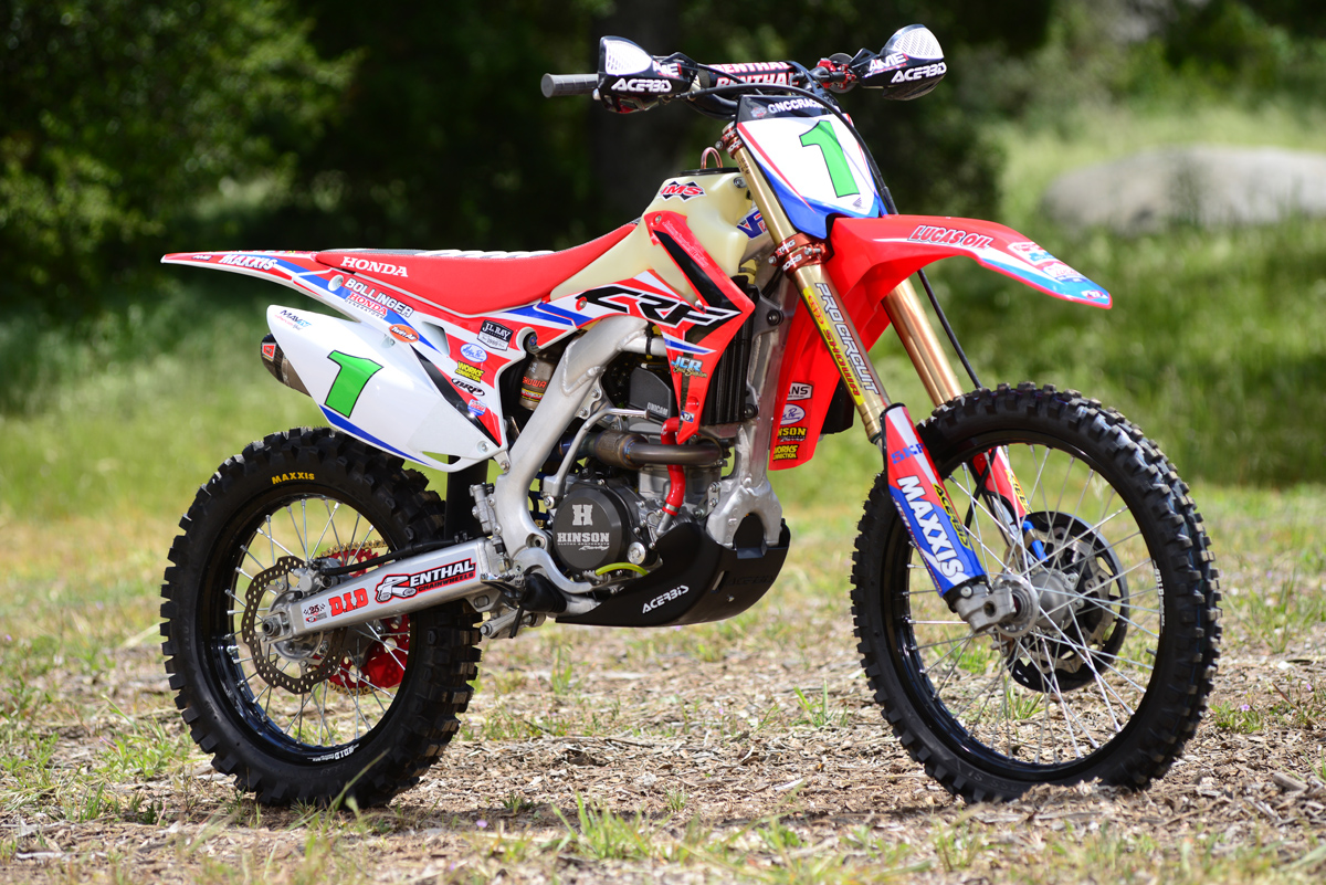 friday wrap  xc champion honda crfr dirt bike magazine