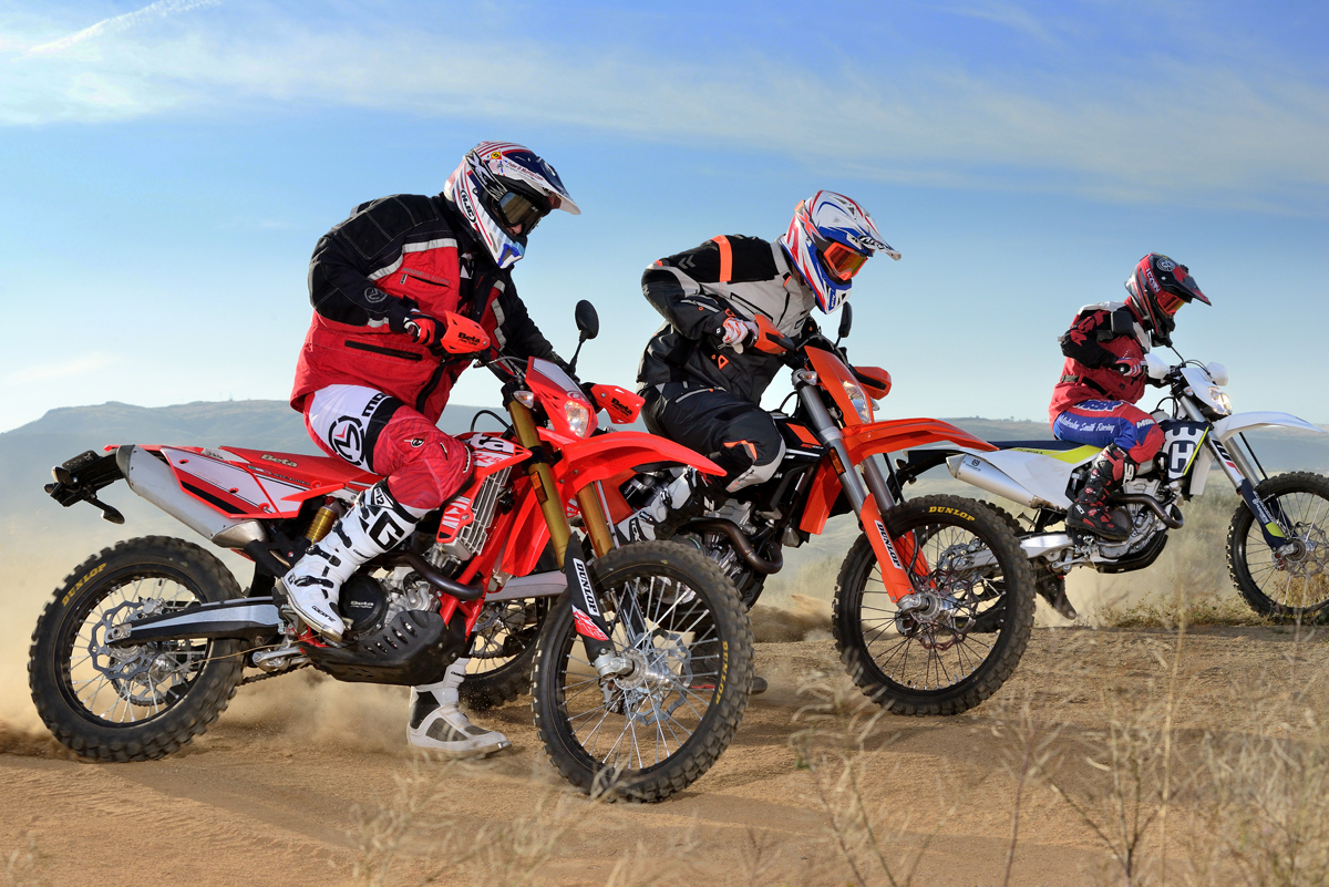 FRIDAY WRAP UP: 350 DUAL-SPORT SHOOTOUT--HUSKY, KTM, BETA | Dirt