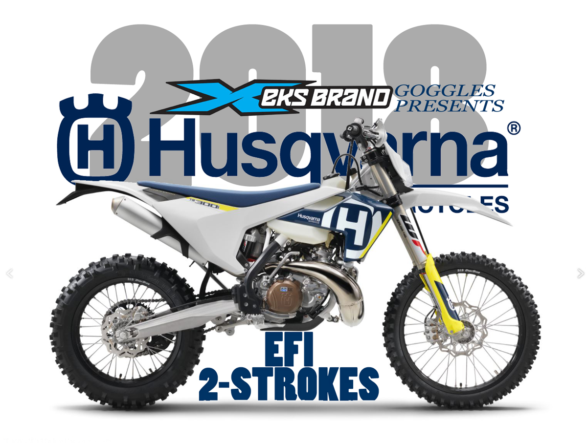 NEW HUSKY FUEL-INJECTED 2-STROKES ANNOUNCED!