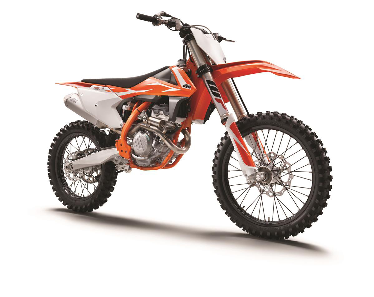 ktm official release 2018 motocross models dirt bike magazine. Black Bedroom Furniture Sets. Home Design Ideas
