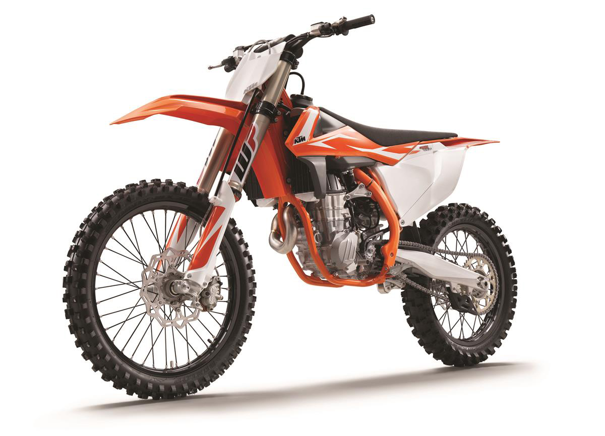 Ktm official release 2018 motocross models dirt bike - Moto crosse ktm ...