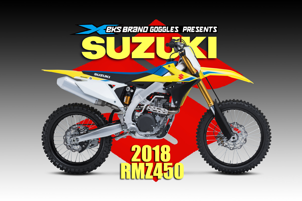 2018 suzuki rm. wonderful suzuki 2018 suzuki rmz450 throughout suzuki rm