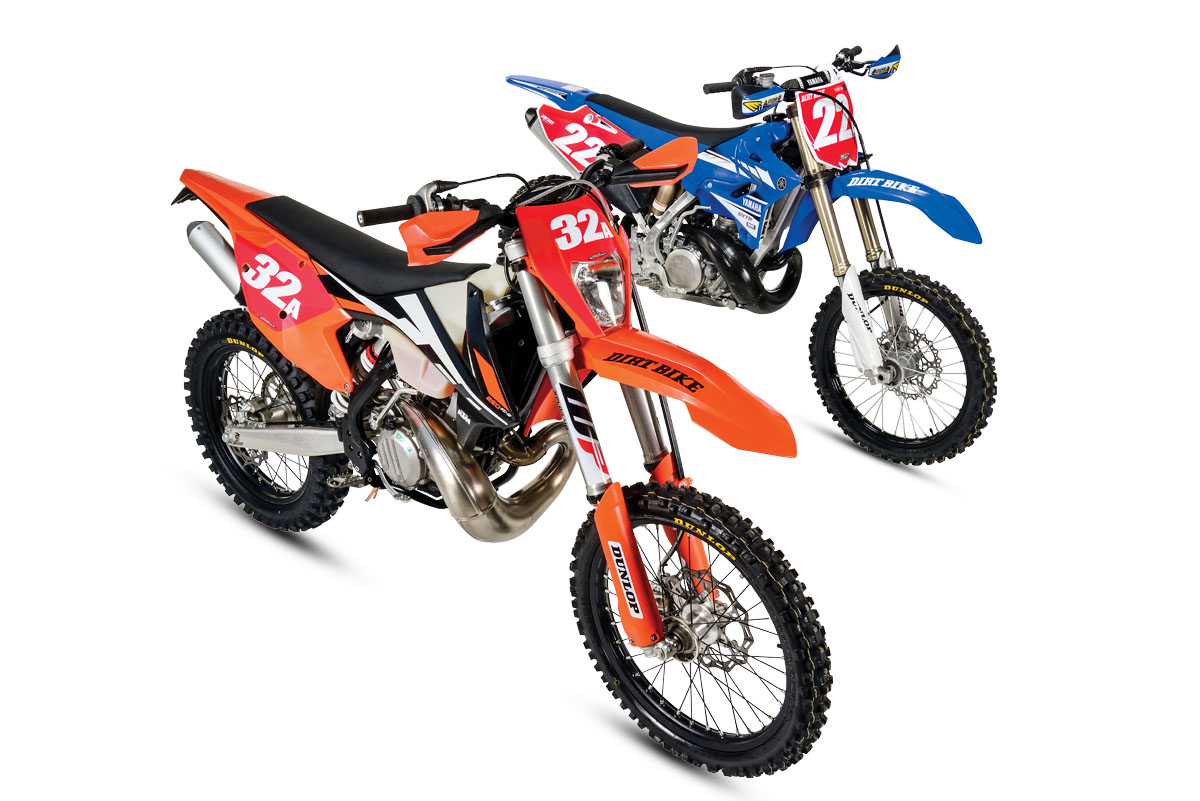 2-STROKE SHOOTOUT: KTM 250XC-W VS  YAMAHA YZ250X | Dirt Bike