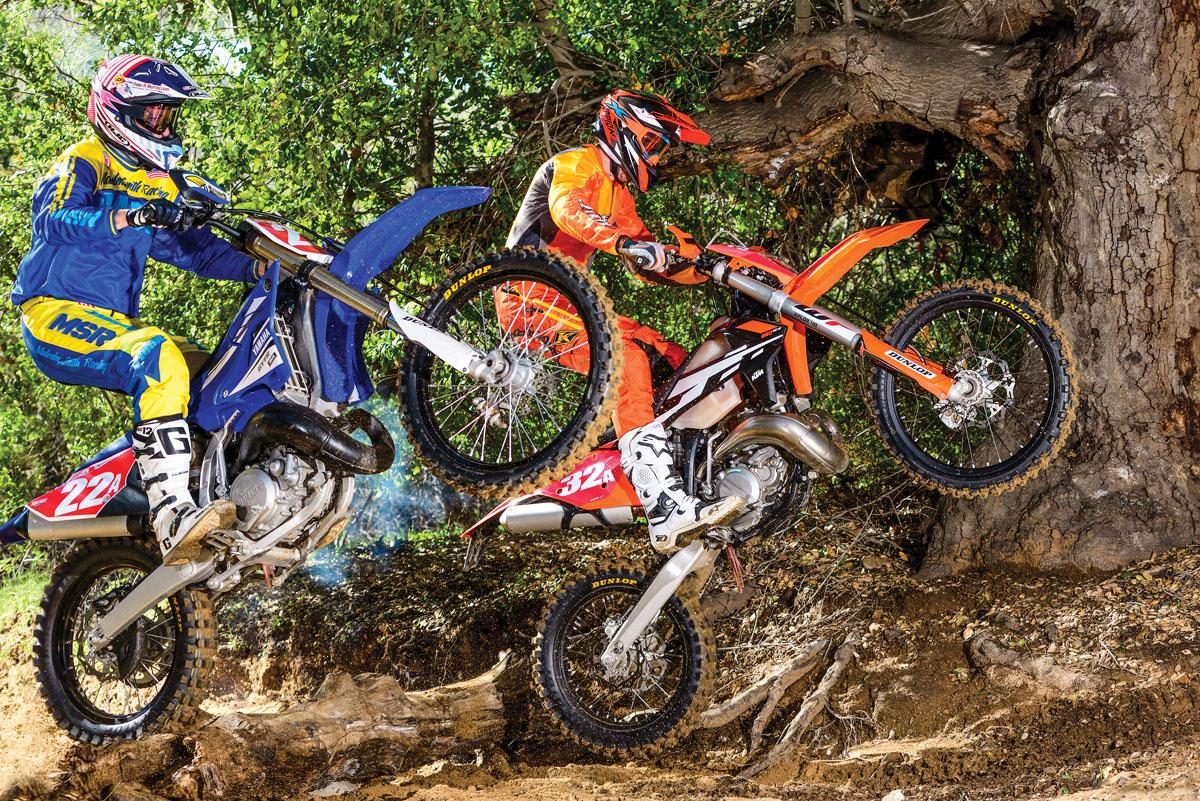 Ktm 250 Factory Edition 2018 >> 2-STROKE SHOOTOUT: KTM 250XC-W VS. YAMAHA YZ250X | Dirt Bike Magazine