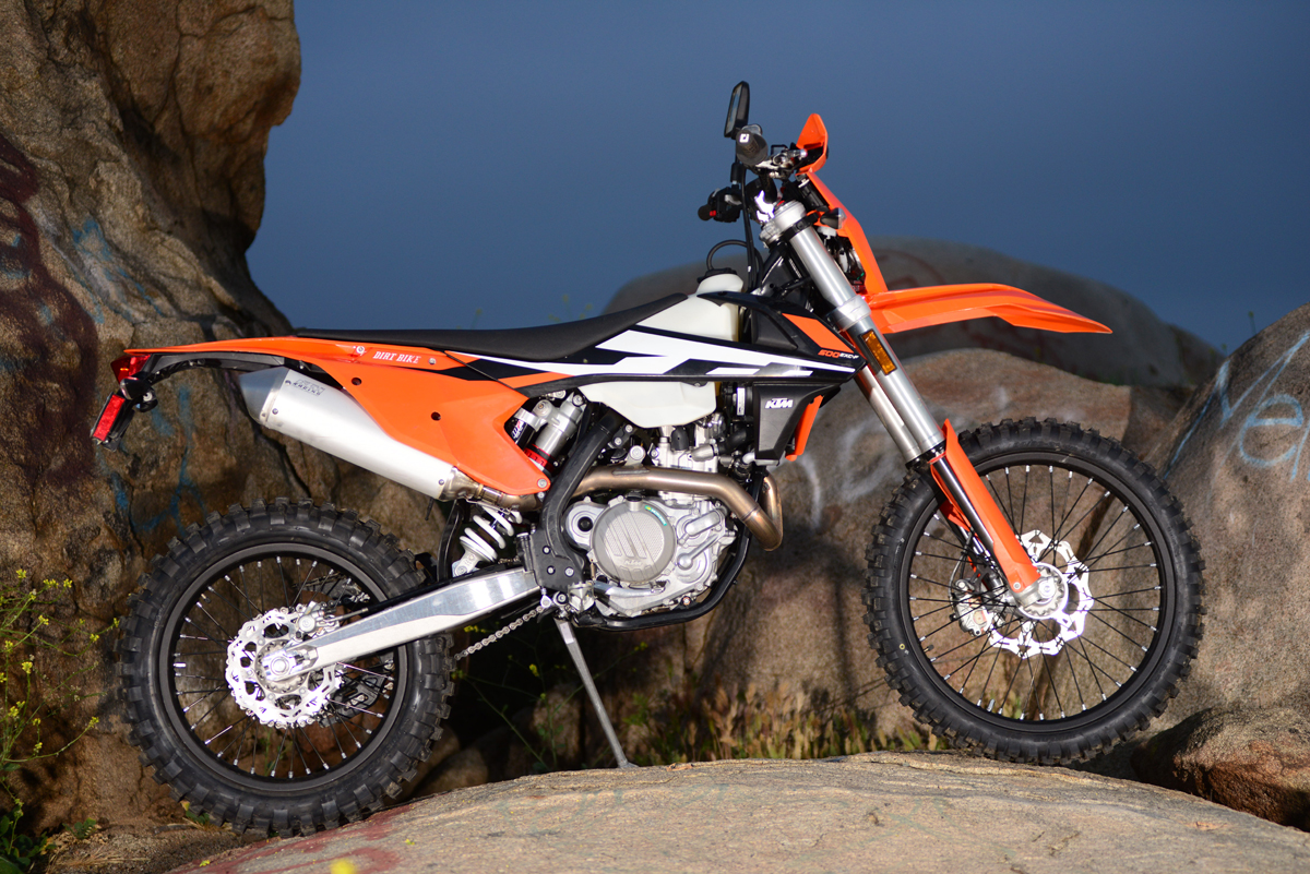 dirt bike magazine | ktm 500exc dual-sport, full test