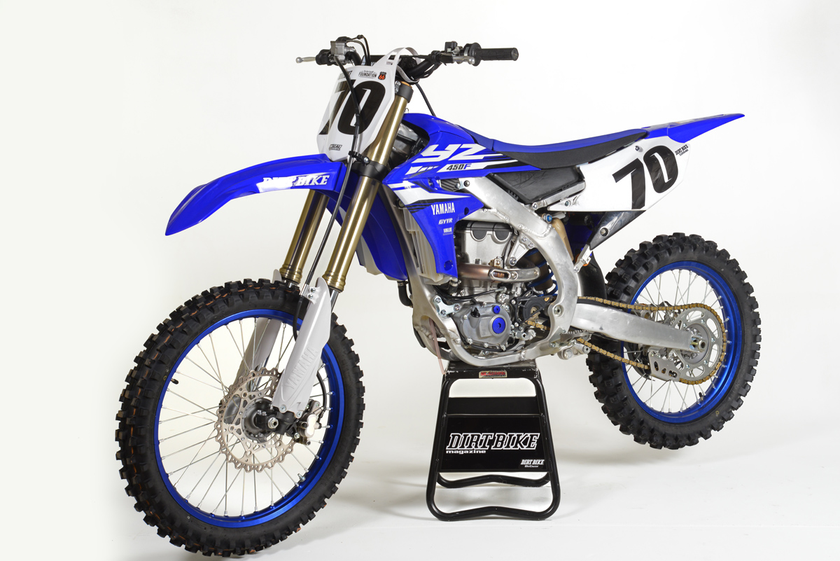 Friday wrap up riding yamaha 39 s new 450 and ktm 39 s electric for New yamaha 450