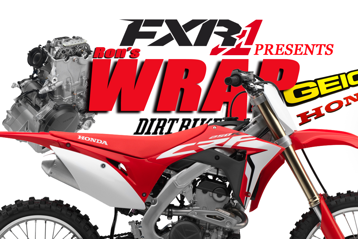 Friday Wrap Up More On The 2018 Honda Crf250r Dirt Bike Magazine