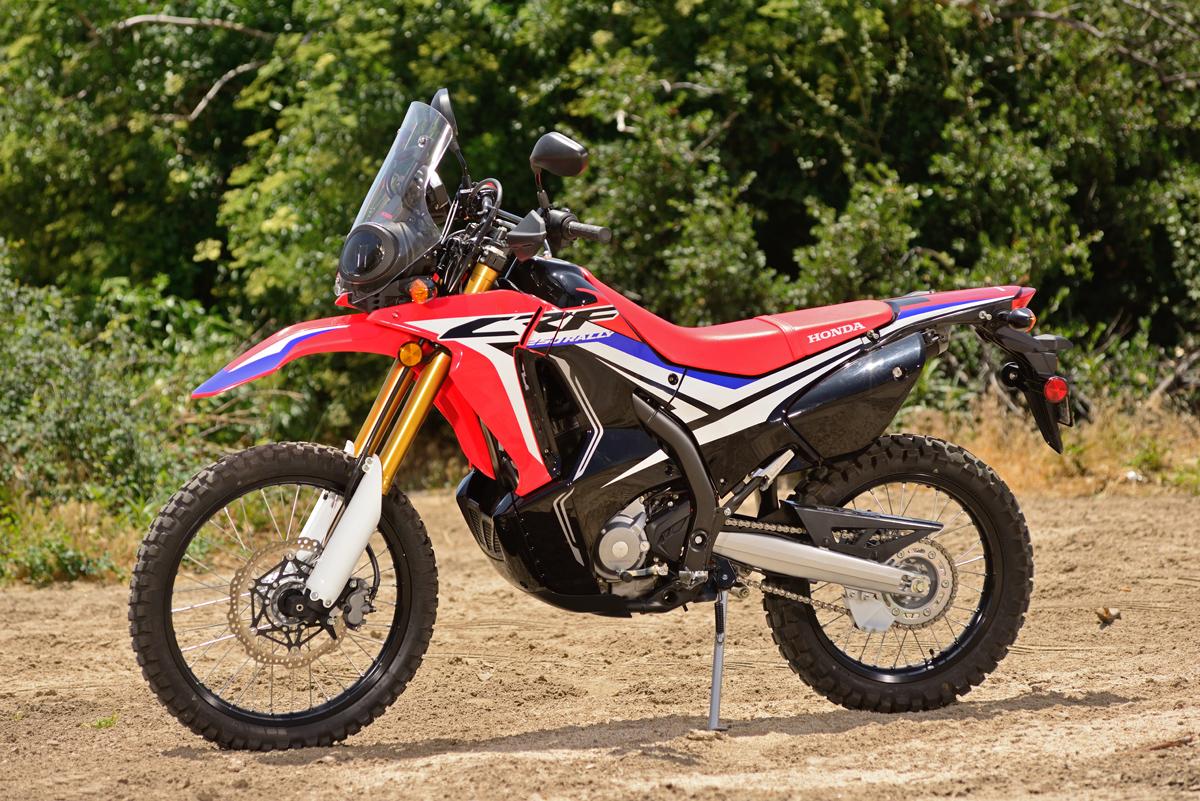 Test Honda Crf250l Rally Dirt Bike Magazine