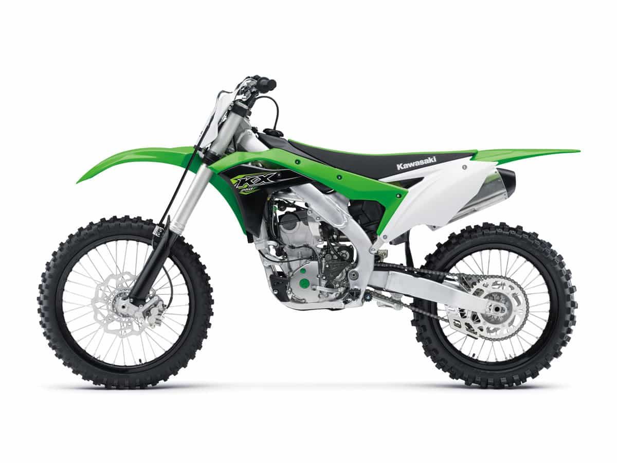 2018 Mx Bike Buyers Guide Dirt Magazine Typical Race Car Wiring Diagram The 250 Four Stroke Class Is Young But This Can Already Be Called Legendary Kawasaki Kx250f Has Won More Pro Races Than Any Other In