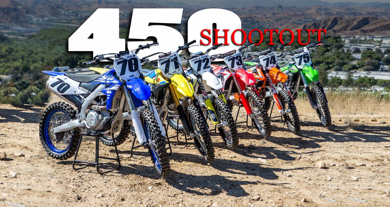 2018 450cc Mx Shootout Video Dirt Bike Magazine