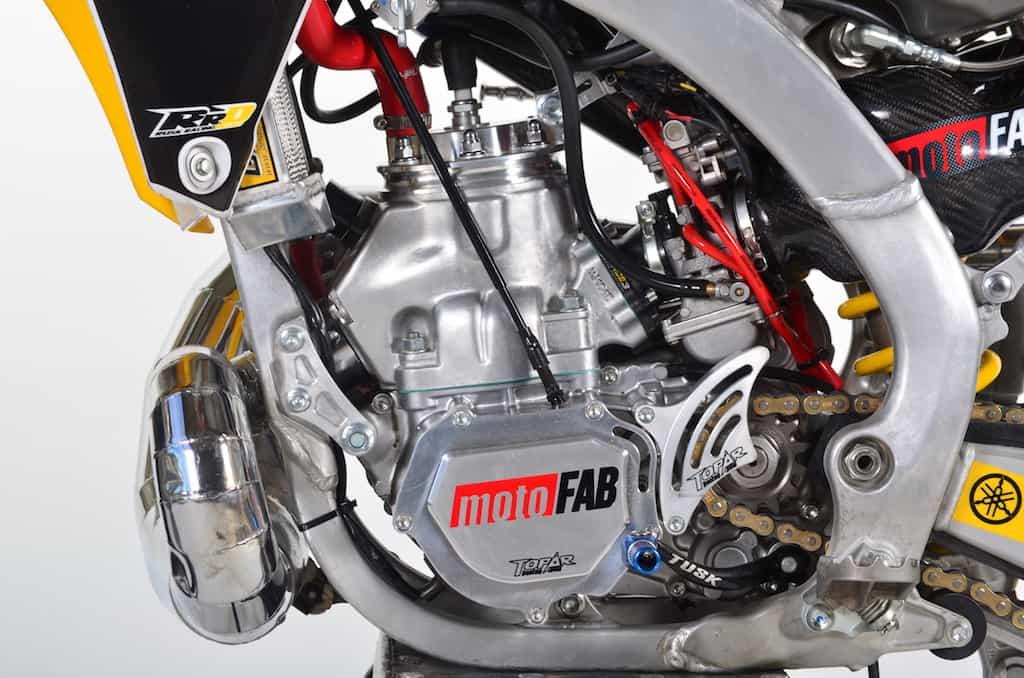 TWO-STROKE TUESDAY: MOTOFAB INDUSTRIES YZ345 | Dirt Bike