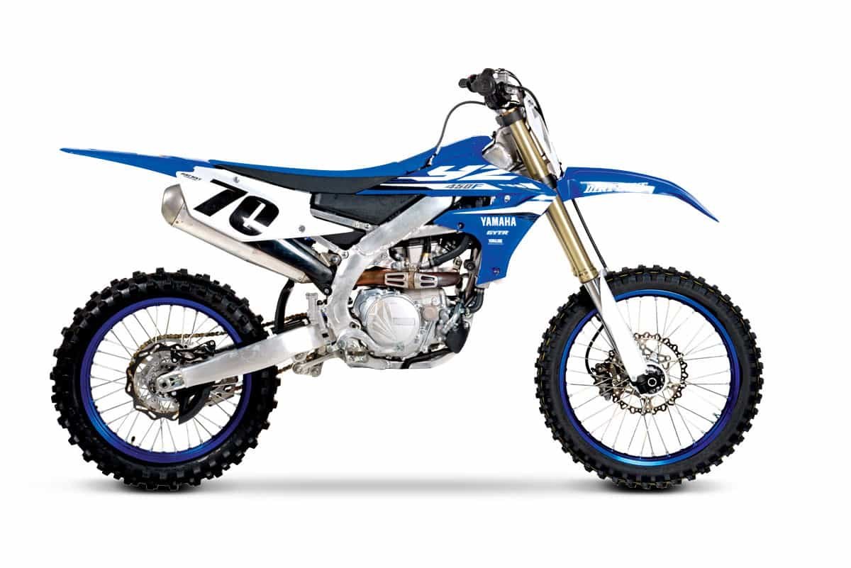 2018 yamaha yz450f full test dirt bike magazine. Black Bedroom Furniture Sets. Home Design Ideas