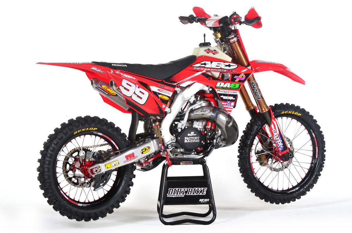 FRIDAY WRAP-UP: HONDA CR500AF PROJECT | Dirt Bike Magazine