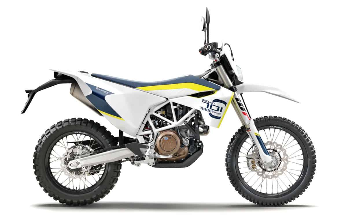 2018 Dual Sport Buyers Guide Dirt Bike Magazine New Kawasaki 650 Sx Wiring Diagram The Husqvarna 701 Has A Mauler Of Single Ohc Motor With Fly By Wire Throttle And Downdraft Efi System
