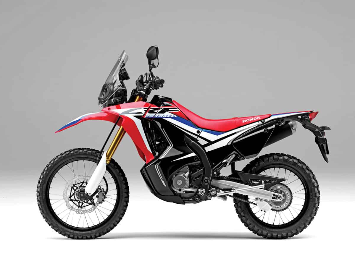 2018 Dual Sport Buyers Guide Dirt Bike Magazine Honda Motorcycle Did An Amazing Job Of Remaking The Crf250l Into A Little Rally And Keeping Price Down Under New Adventure Fairing Its Essentially