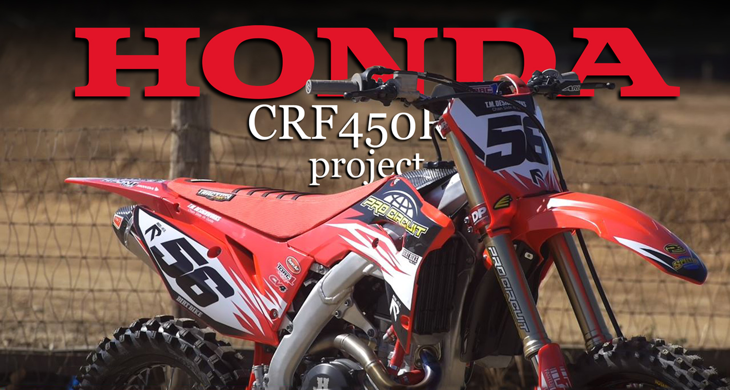 PROJECT PRO CIRCUIT CRF450R VIDEO | Dirt Bike Magazine