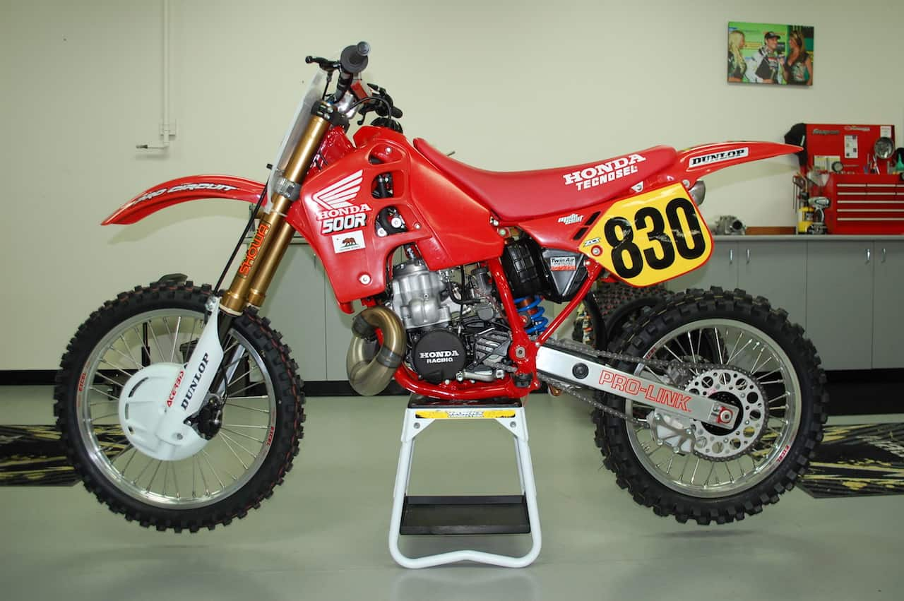 two stroke tuesday 1989 cr500 built by lee mccollum. Black Bedroom Furniture Sets. Home Design Ideas