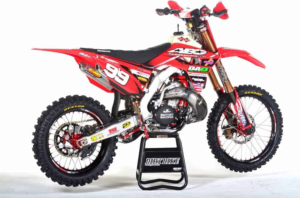 Two stroke tuesday 1989 cr500 built by lee mccollum for 2018 honda 2 stroke
