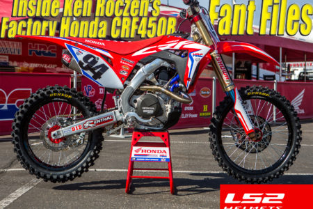 We check out all the details that make Ken Roczen's factory