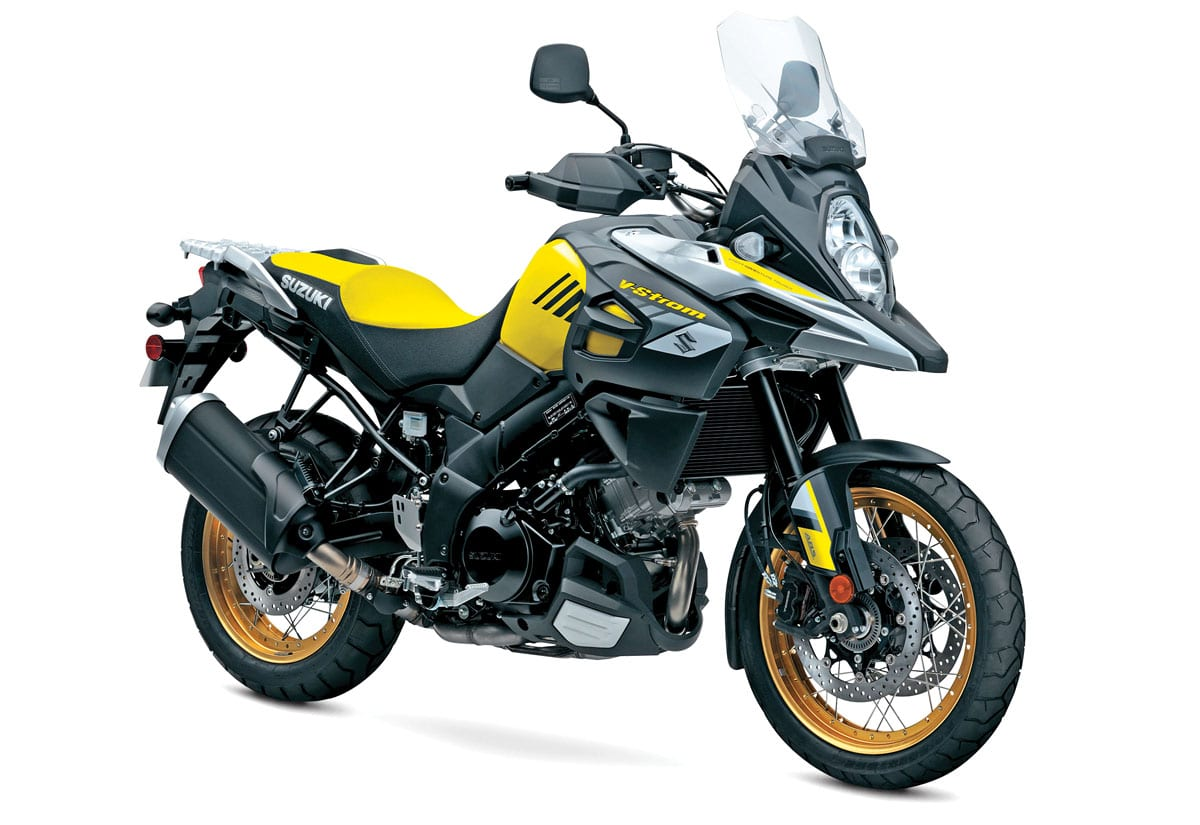 Information On All The 2018 Adventure Bikes With Photos Prices And Suzuki Gs700 Wiring Diagram V Strom 1000 Xt 12999 13299