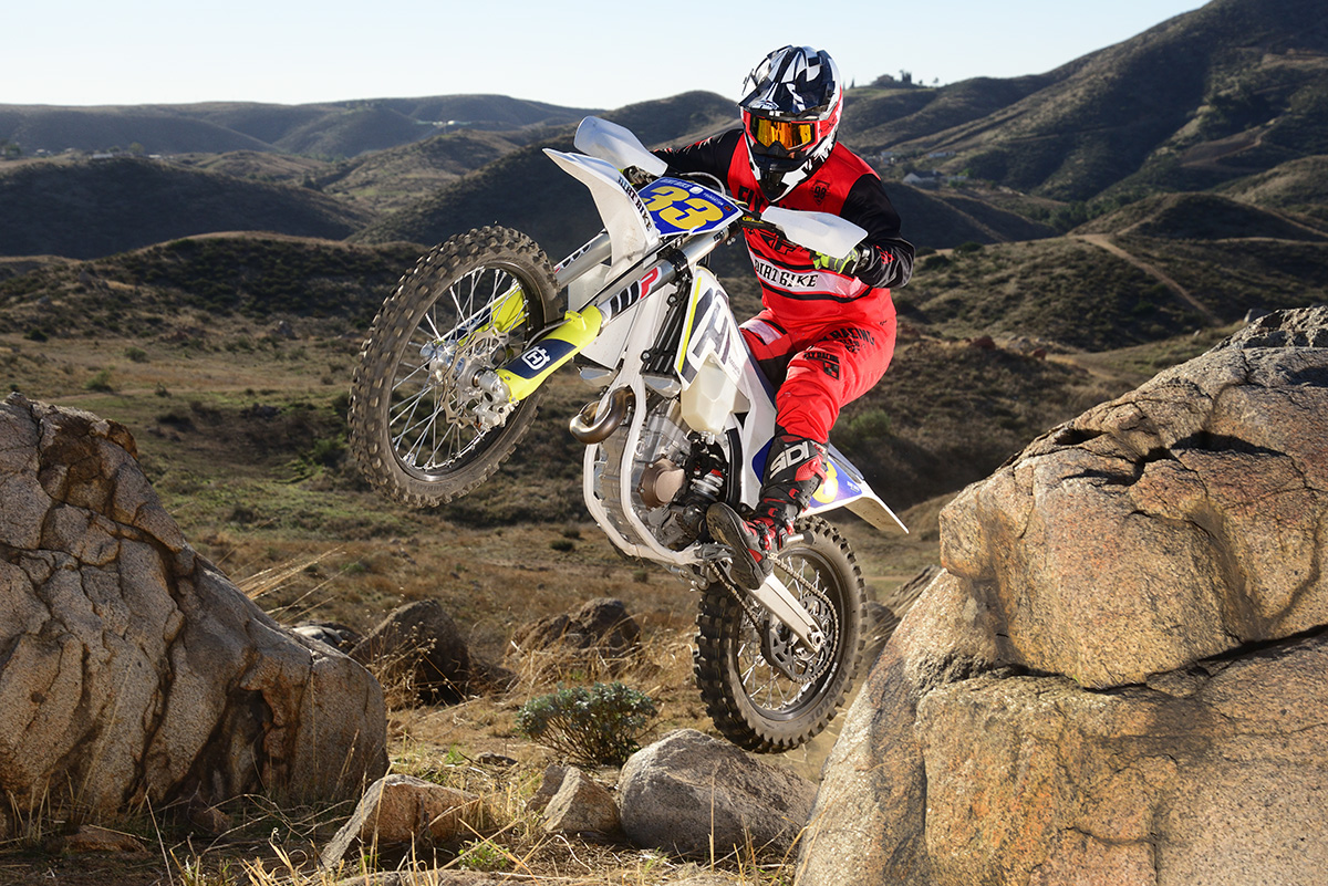 The FX450 won our competition off-road 450 shootout last year.