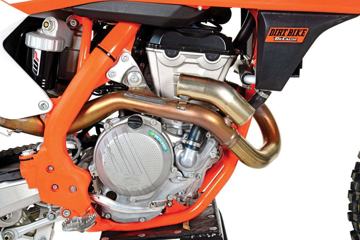 2018 ktm 350sx f full test dirt bike magazine ktm 350sx f engine type dohc electric start 4 valve 4 stroke displacement 350cc bore stroke 880mm x 575mm fuel delivery keihin efi 44mm ccuart Image collections