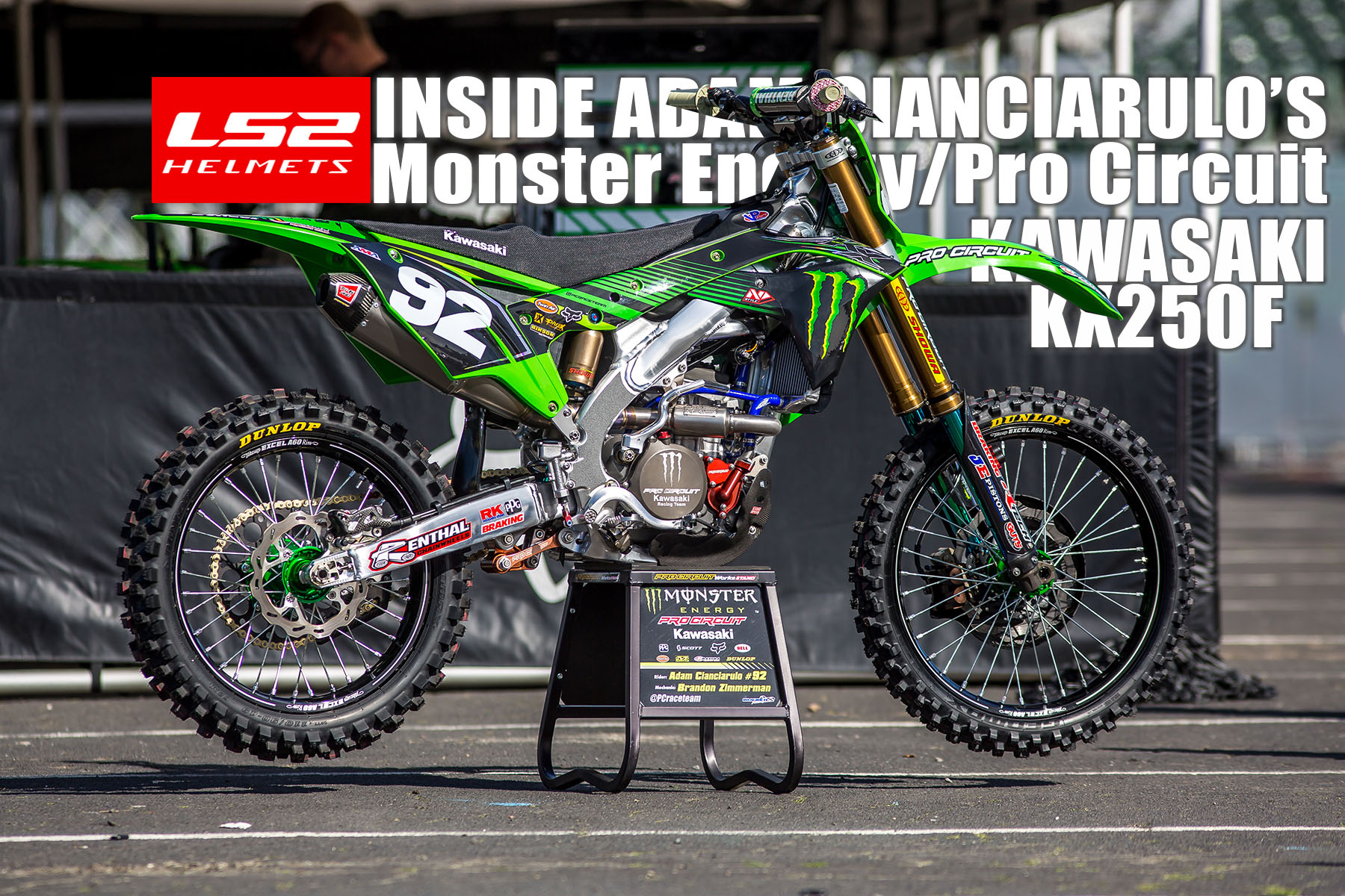 INSIDE ADAM CIANCIARULO'S FACTORY MONSTER ENERGY/PRO CIRCUIT ...