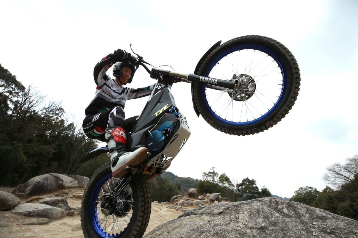 YAMAHA TY-E ELECTRIC TRIALS BIKE CONCEPT MODEL ANNOUNCED