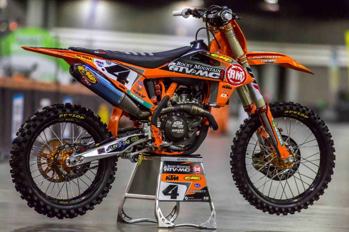 We caught up with mechanic Nathan Alexander under the tents of Factory Rocky Mountain/ATVMC to get an in-depth look at Blake Baggettu0027s KTM 450SXF prior to ... & Inside Blake Baggettu0027s Factory Rocky Mountain/KTM 450SXF - Fant ...