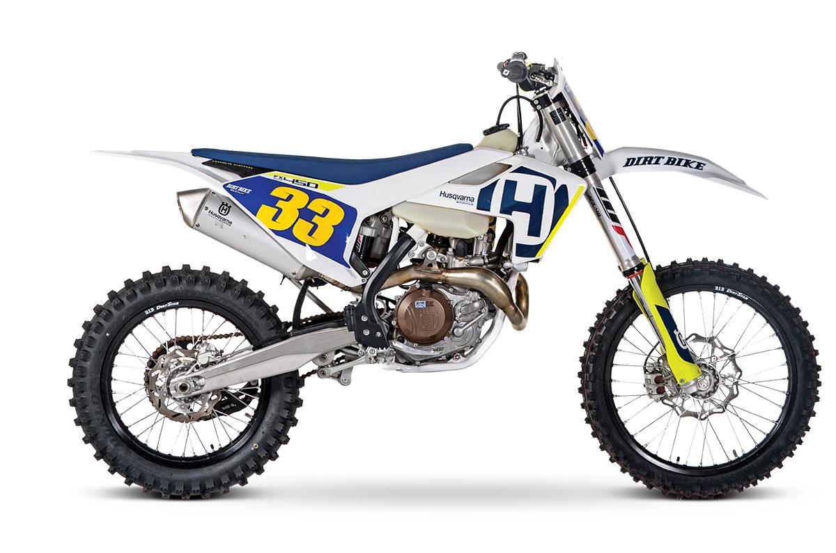 2018 HUSQVARNA FX450: FULL TEST | Dirt Bike Magazine
