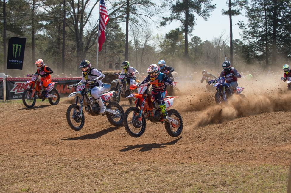 GNCC BATTLE RAGES; RUSSELL AND DUVALL DUKE IT OUT