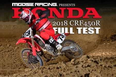 2018 Honda Crf450r Full Test Dirt Bike Magazine