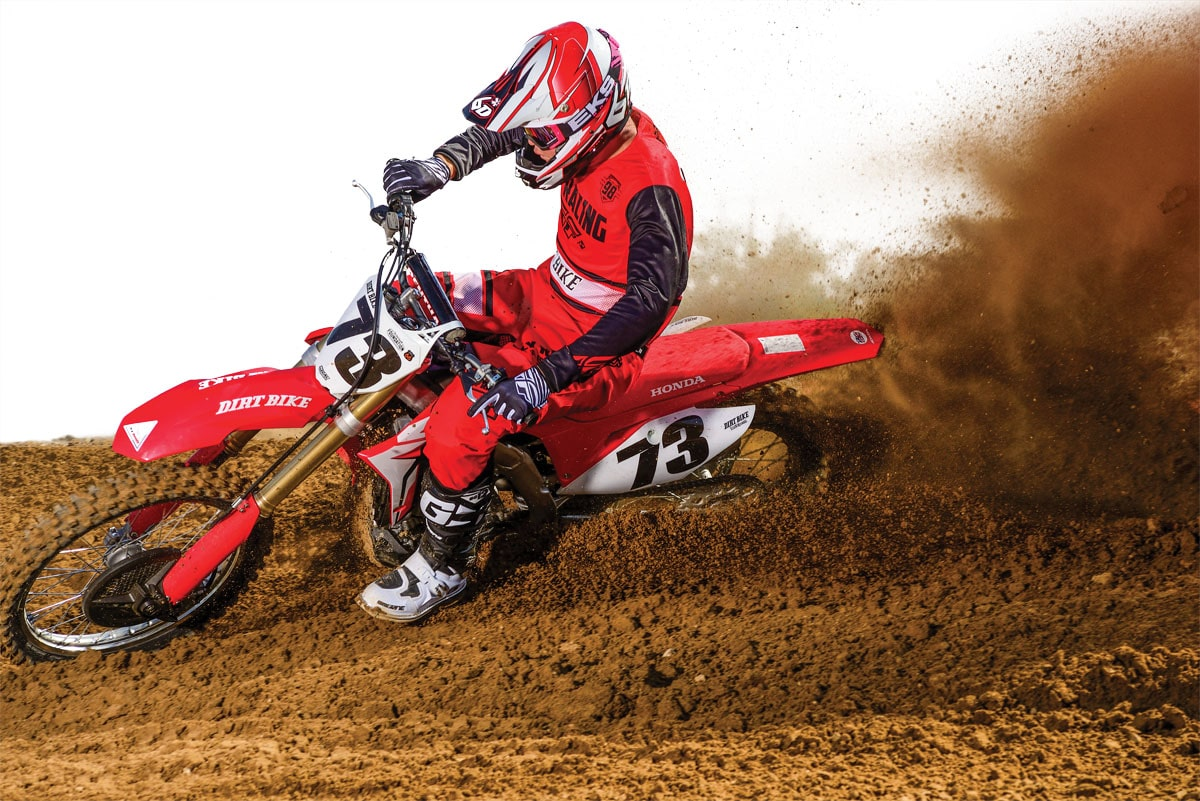 The new-age Honda CRF450R is in its second year.