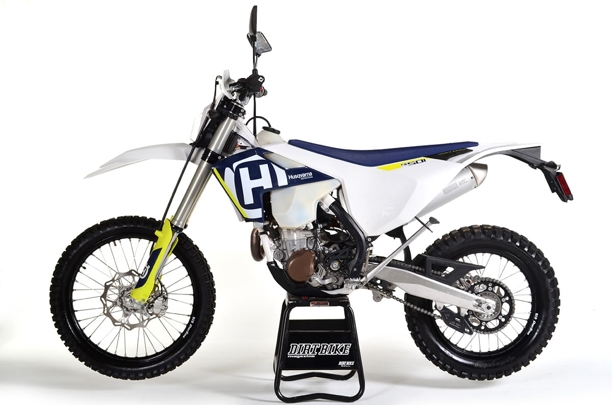 The Husqvarna FE501 was completely new in 2017.