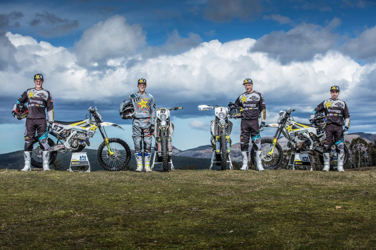 2018 ROCKSTAR ENERGY HUSQVARNA FACTORY RACING ENDURO TEAM