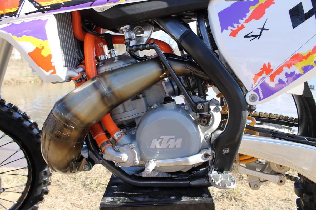 TWO-STROKE TUESDAY: SLM RACING KTM 440 | Dirt Bike Magazine