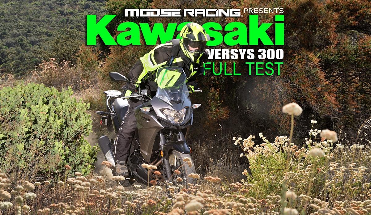 KAWASAKI VERSYS-X 300: FULL TEST