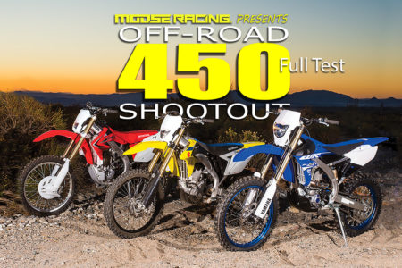 2018 450 OFF-ROAD SHOOTOUT: FULL TEST | Dirt Bike Magazine
