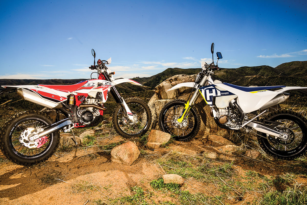 The Beta 500RR-S and the Husqvarna FE501 are among the most dirt-worthy dual-sport bikes ever made.