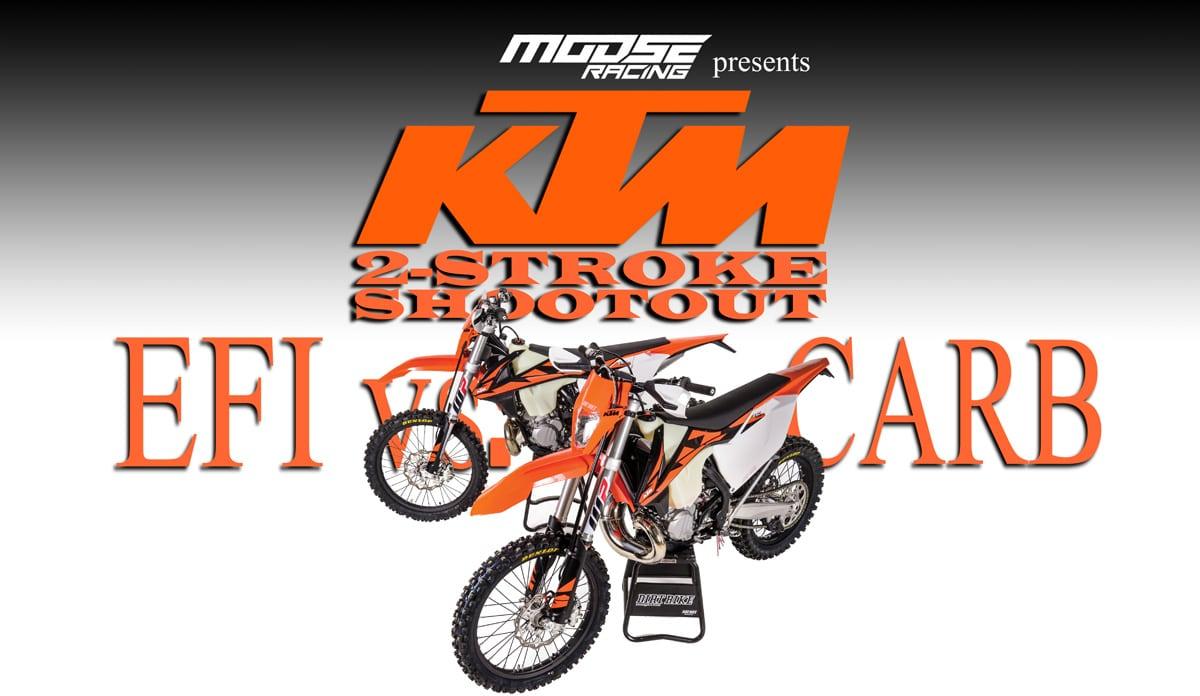 2-STROKE SHOOTOUT: EFI VS  CARB | Dirt Bike Magazine