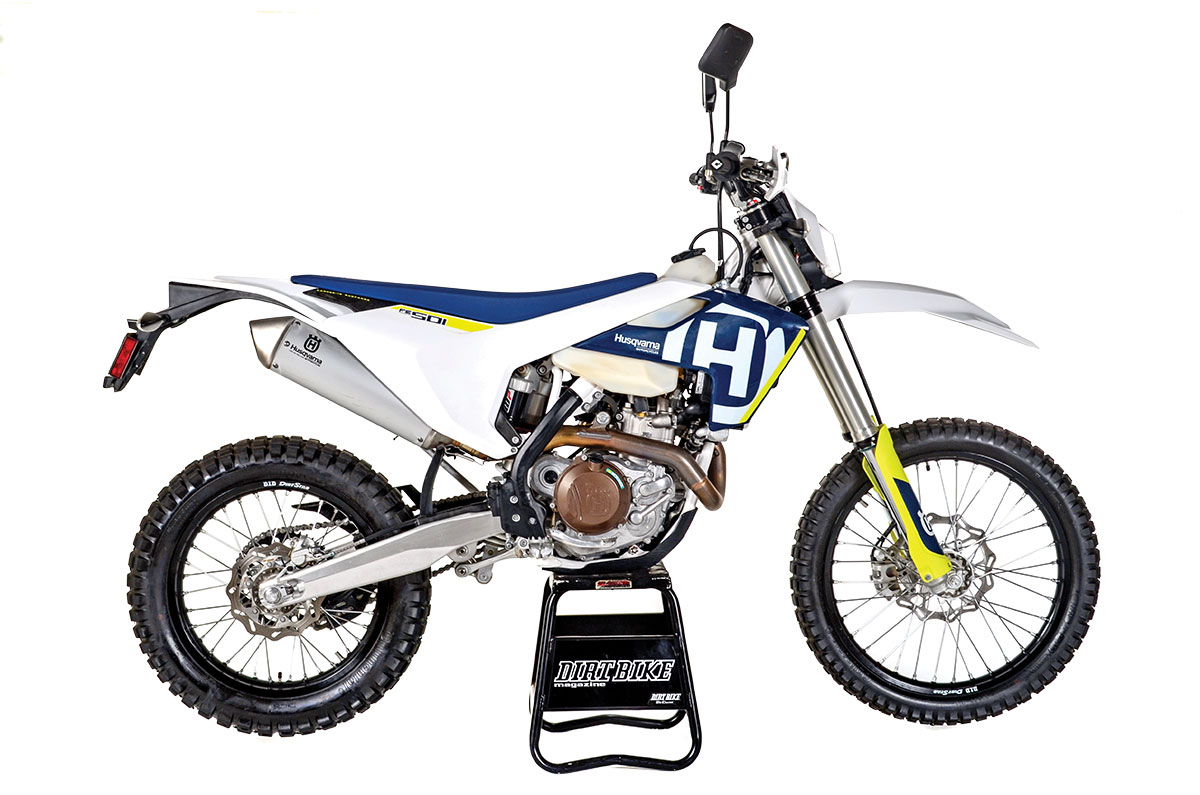 The MSRP for the Husqvarna FE501 is $11,099.