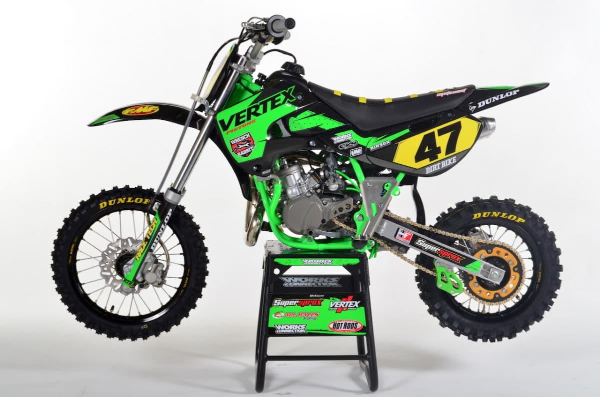 Kawasaki Kx  Dirt Bike